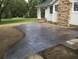 5 Simple Stamped Concrete Patio Design Ideas Ezinestack