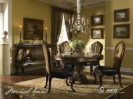 palace gate round dining room set