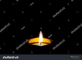 Candle Light Condolence Mourning Condolence Memorial Funeral Cremation Ceremony