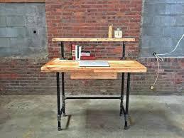 diy pallet iron pipe. Wood And Pipe Desk Metal Diy Pallet Iron