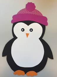 Fensterdeko Pinguin Freebie Klassenkunst