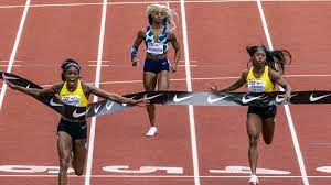 Sha'Carri Richardson finishes last ...