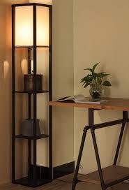Corner Floor Lamp With Shelves Interesting Corner Floor Lamp With Shelf Smart Architechtures The Lovely Of