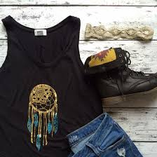 Dream Catcher Shirt Diy Impressive Easy Diy Dream Catcher Tank Craftgawker