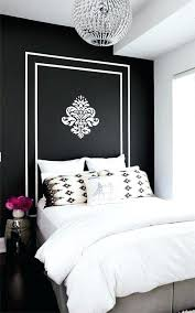 black and white bedroom decorating ideas. Over The Bed Decorating Ideas Black White Bedroom Custom Decor  And . E