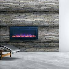 wall hung electric fireplaces slate steel wall mounted electric fireplace reviews allmodern wall mounted electric fireplaces