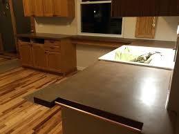 concrete countertop kitchen concrete granite s concrete kitchen worktops rough edge concrete s rustic