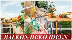 Schöner Balkon Fensterbank Deko Ideen