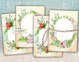 Wedding Card Collage Wedding Cards Digital Collage Sheet Set Of 4 Cards Etsy