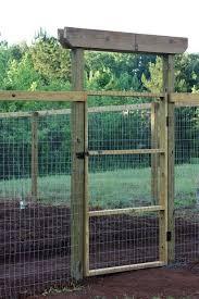 vegetable garden fence gate photo 7