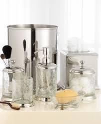 crackle glass bathroom accessories. paradigm bath accessories, crackle glass tissue holder bathroom accessories l