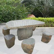 stone furniture table bench 33