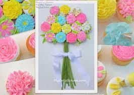 Bouquet Of Cupcakes Tutorial Mycakeschoolcom My Cake School