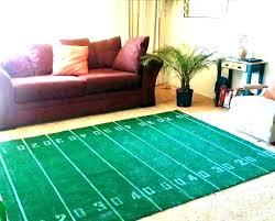 football area rug soccer field rugs large runner ru