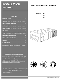unitary products rtu wiring diagram heater wiring library york millennium y14 installation manual manualzz com