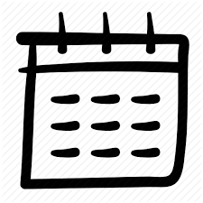 Daily Picture Calendar Doodle Business Shop Finance Set 2 By Bomsymbols