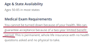 What is guaranteed issue whole life insurance? Colonial Penn Life Insurance Review For 2020 Ogletree Financial