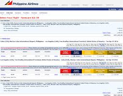 Mabuhay Miles Redemption Chart Domestic Cebu Lax On Pal Page 2 Airports Airlines