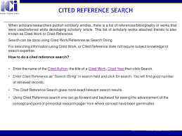 How To Use Indian Citation Index Ici Ppt Download