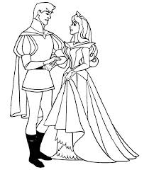 Small Picture Sleeping beauty coloring pages prince and princess ColoringStar