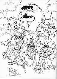 Small Picture Muppets Coloring Pages GetColoringPagescom