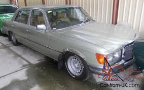 Car is for sale locally so we reserve the right to end the auction early. Mercedes Benz 450sel 6 9 1979 Australian Delivery Saloon