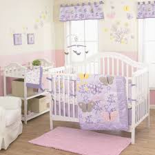 baby lavender crib bedding awesome favorite the belle lulu 3 piece girl crib bedding set