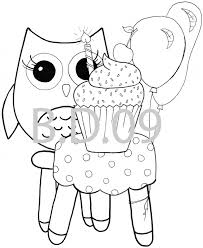 Cute Owl Coloring Pages Cute Owl