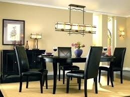 linear chandelier dining room farmhouse hanging lights simple at design ideas kitchen table light fixtures small