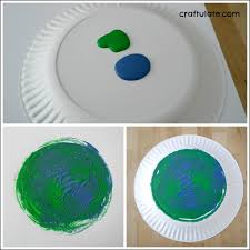paper plate spin art planets a fun art project for kids learning about outer space