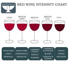 Red Wine Intensity Chart Red Wine Wine Tasting Party