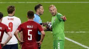 England fans during Denmark semi-final ...