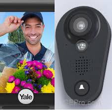 front door video cameraYales SuperSmart Doorbell Cam Look Viewer with Video