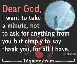 In All I Thank U God Quote