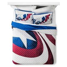 Captain America Blue Shield Bedding Collection - Marvel