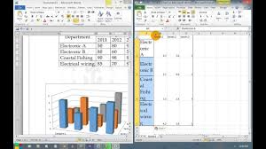 Insert 3d Clustered Column Chart Excel How To Insert A 3d Column Chart For Result Analysis