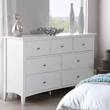 Exceptional Edward Hopper White 7 Drawer Chest, Large Chest Of Drawers With Metal  Runners And Dovetail Joints, FULLY ASSEMBLED: Amazon.co.uk: Kitchen U0026 Home