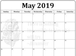 Blank May Calendar Blank May Calendar 2019 Pdf Source Template Best Templates