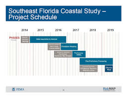 in fiscal year 2016 fema initiated a coastal flood risk study for the south florida study area that affects broward miami dade monroe and palm beach