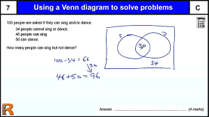 Examples Of Venn Diagram Word Problems Venn Diagram 3 Circles Problems With Answers Magdalene