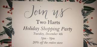 Holiday Shopping Party Lake Placid Adirondacks