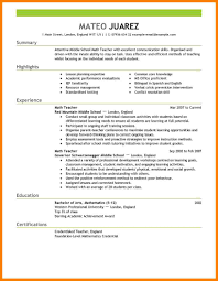 10 Education Section Of Resume Example Precis Format