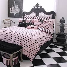 33 awesome and beautiful black white pink polka dot bedding bedspread la beds fresh blue comforter set 21 for your best ing duvet queen