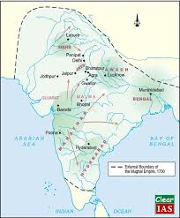 Mughal Empire Timeline Chart Medieval India 18th Century Political Formations Ncert