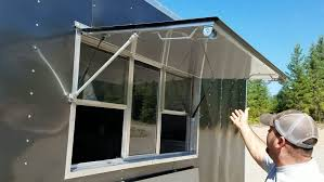 large size of mobile home awning supports food trailer concession window montana mfg ideas