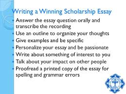 searching for scholarships hard work does pay off your debt 8 writing a winning scholarship essay answer the essay question