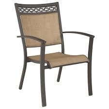 Sling Black Outdoor Chairs Bamboo Set Of 2  WalmartcomOutdoor Sling Furniture