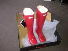 hunter boots size 6 hunter wellies size 6 original gloss tall wellington boots red