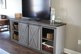 barn door entertainment center. sliding barn door entertainment center e