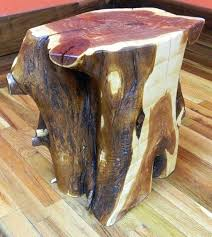 tree trunk furniture for sale. Wood Stump End Table Aromatic Red Cedar Stool Top  Finished Plant Regarding Tree Trunk Tables For Sale Tree Trunk Furniture For Sale T